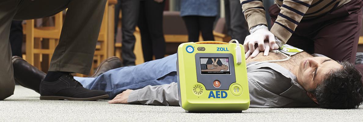 ZOLL AED 3 hjärtstartare