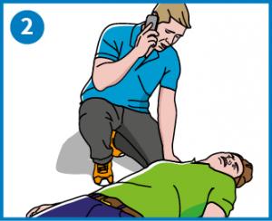 2 - Soita 112 ja aseta puhelin kaiuitintoiminnolle